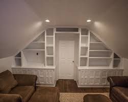 Traditional Family Room Attic Design Pictures Remodel Decor And Ideas