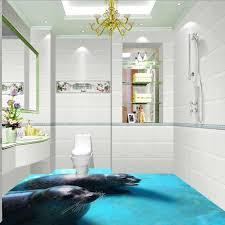 freies verschiffen 3d bad wohnzimmer aquarium bodenbelag tapete dichtung selbst adhesive wasserdichte boden wandbild