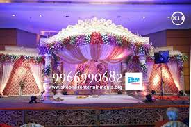 Wedding Stage Flower And Reception Decorations In Hyderabad 127