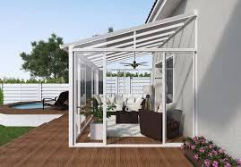 Palram Feria Patio Cover Uk by Palram Sanremo Lean To Conservatory Robust Structure