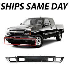 100 Truck Bumpers Chevy Silverado Black Bumper EBay