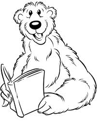 Reading Animals Colouring Pages AZ Coloring