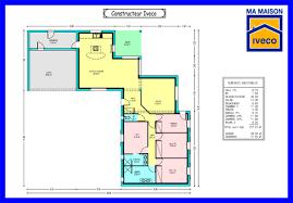 plan de maison plain pied 4 chambres plan maison contemporaine plain pied 4 chambres constructeur iveco