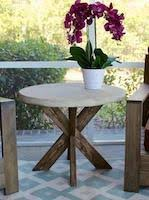 outdoor side table woodworking plans and information at