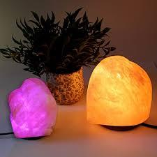 Himalayan Salt Lamp Amazon by Crafted Himalayan Salt Lamps Gift Set The Perfect Pair The
