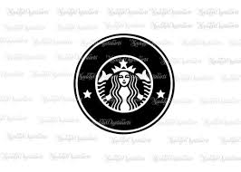 Coffee Logo SVG Starbucks File Cricut Cut Files Silhouette