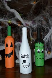 Diy Halloween Decorations Pinterest by 25 Unique Halloween Wine Bottles Ideas On Pinterest Wine Bottle