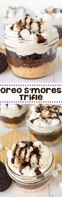 easy no bake dessert recipes oreo s mores trifle recipe oreos dessert recipes and oreo