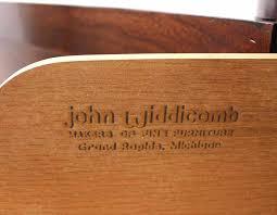 John Widdicomb Dresser Mirror by John Widdicomb Oriental Three Doors Credenza Or Dresser For Sale