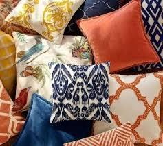 Pottery Barn Decorative Pillows by Ikat Decorative Pillows Foter