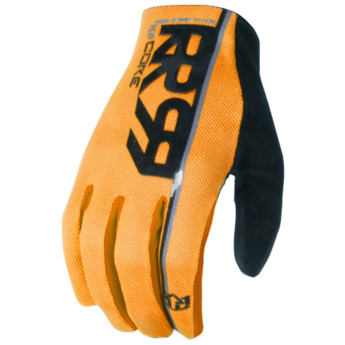 Royal Racing Core Gloves, Amber/Black, Large