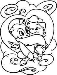 Awesome Cute Baby Hercules And Pegasus Coloring Pages