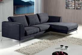 canapé polyester canapé d angle axit tissu 100 polyester coloris lugano gris