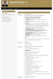 Bartender Event Coordinator Promoter Ticketing Registration Resume Example