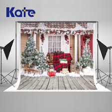 100 Tree House Studio Wood Kate Christmas Photography Backdrop Christmas