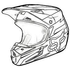 How To Draw Dirt Bike Gear