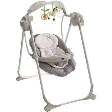 transat balancelle bebe pas cher chicco balancelle polly swing up grey grey achat vente