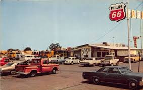 100 California Truck Stops Garvey Cafe Delta White Stop Along US 5099 Bypass At