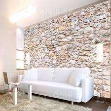 wohnzimmer ideen mit steintapete steintapete wohnzimmer