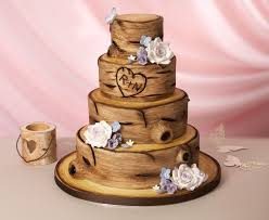 Learn How To Decorate A Tree Bark Cake Here