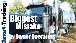 The Biggest Mistake Owner Operators Make