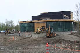Arts and education facility rises at Mat Su College Green & Gold