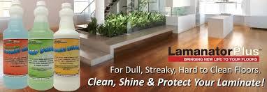 Lamanator Plus Laminate Floor Care Solutions