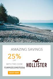 Get 25% Off $75+. Expires After 1 Use. | Hollister Co. Coupons In ...