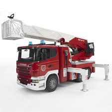 Camion Pompier Geant Jouet Rue Paris