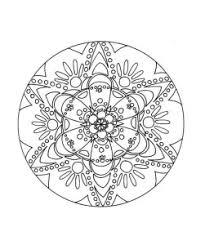 Free Printable Mandala Coloring Pages Ad