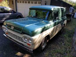 100 1960 Ford Panel Truck Van For Sale In