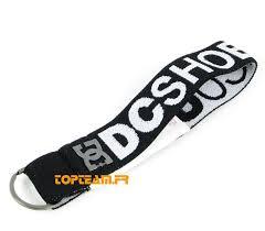 porte clés dc shoes relay noir blanc goodies vêtements