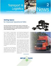 100 Sala Trucking News Transport Logistics Selling Space For Improved Operational