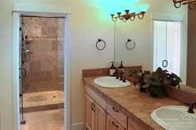 Kohler Overmount Bathroom Sinks by Contemporary Master Bathroom With Built In Bookshelf U0026 Travertine