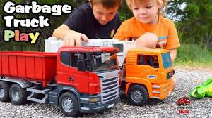 Garbage Truck Videos For Children L Mighty Machines At Work L ... Video Dailymotion Trash Truck Toys Tecstar Garbage Vehicles Trucks Cartoon For Kids Recycling Green Youtube Channel Indonesia Lagu Anak Factory With Blippi Educational Toy Videos Children For Car Song Babies By Amazoncom Bruder Man Side Loading Orange Garbage Truck L To The Diggers Truck Excavator
