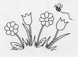 Beautiful Flower Coloring Pages For Kids Printable