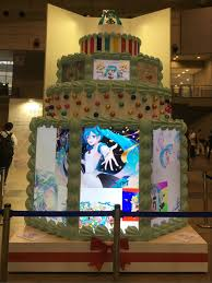 Wwe Divas Cake Decorations by Event Report Hatsune Miku Magical Mirai 2017 Celebrating 10