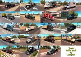 100 Betten Trucks Truck Traffic Pack By Jazzycat V19 Mod For American Truck Simulator