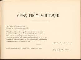 The Wound Dresser Walt Whitman Analysis by Walt Whitman Archive Gems From Walt Whitman The Walt Whitman