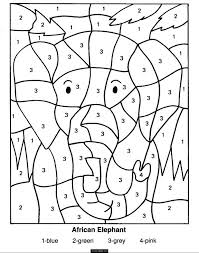 Rangoli Designs Coloring Pages Easy Sheets Color By Numbers Elephant Page Kids Printable