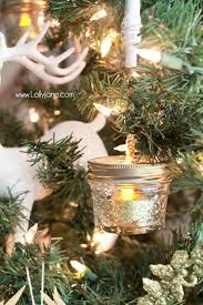 Rustic Ball Jar Ornaments