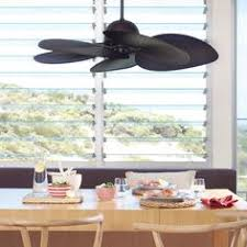 Rattan Ceiling Fans With Lights by Fijian Ii 132cm Fan In Bronze With Coffee Coloured Rattan Blades