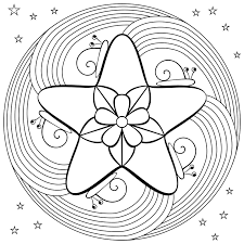 Coloring Pages Rainbow Fish For Kids