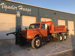 100 Plow Trucks For Sale 2002 International 4900 Spreader Truck 141718