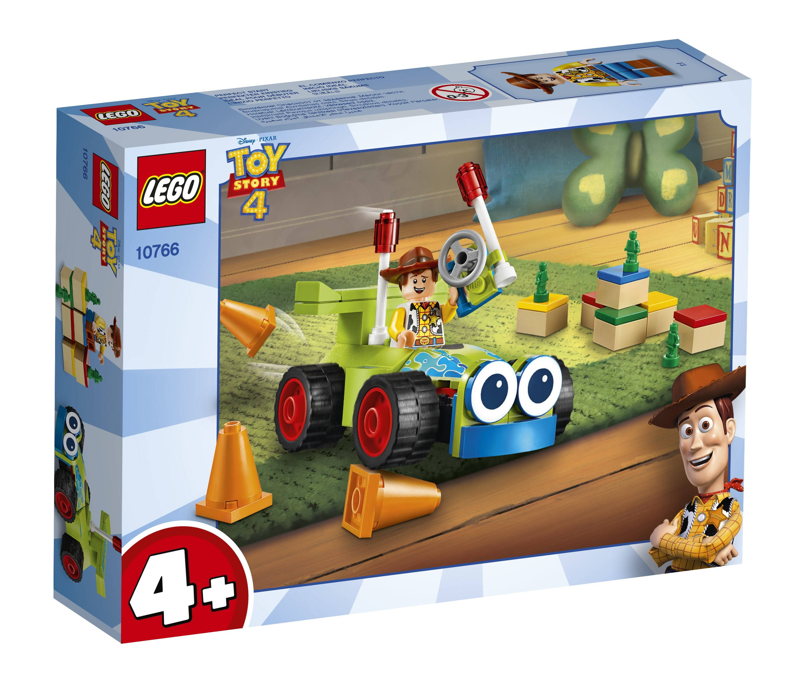 Lego Juniors 10766 Woody & Rc