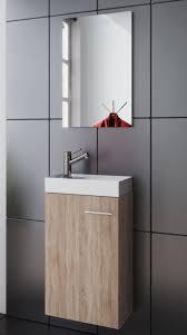 vcm waschplatz waschbecken schrank spiegel wc gäste toilette badmöbel klein schmal garla waschplatz mit unterschrank waschbecken spiegel garla