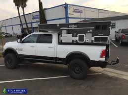 100 Pop Up Truck Camper How Cool It Is To Have A Black Popup Truck Camper On The
