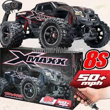 100 Truck Maxx Traxxas XMAXX 4WD VXL8s Brushless RTR Monster RED EBay