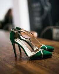 A Vintage Glam Emerald Green Wedding