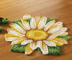 Sunflower And Rooster Themed Kitchen